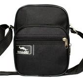 Мужская сумка компактная на плечо и пояс (2661)