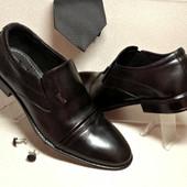 Классические туфли из натур кожи Sart 612