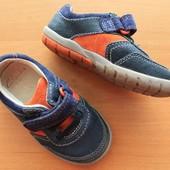 Кожаные кроссовки туфли Klarks 21 размер 13,2 см