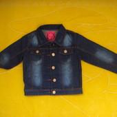 Разные фирменные джинсовые,немного стрейчевые пиджаки Grace,для девочек ростом 110-152 см.