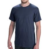 Мужская футболка Hanes Comfort, синяя, размер L
