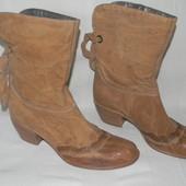 Женские кожаные сапожки-ковбойки Vic Matie р.36 дл.ст  23,5см