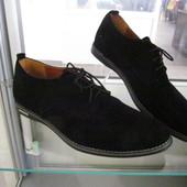 Мужкие замшевые туфли. Польша