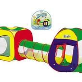 Детская палатка 889-7 B  с тоннелем 889-7B