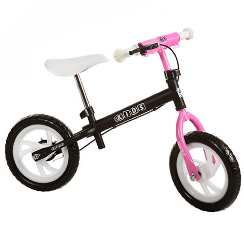 New! Детский беговел Profi Kids M 3141-2, розовый (12 дюймов) фото №1