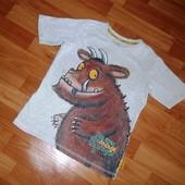 Крутяцкая футболка Marks&Spencer на 6-7 лет