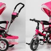 Трехколесный велосипед Супер Трайк. Super Trike надувные колеса поворотное