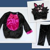 Костюм черного кота / котенка/ кошки TU на 1-2 года, рост 80-92 см