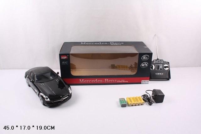 Машинка на р.у егковая 2024 mercedes-benz sls amg аккум.свет.фар,стоп.кор.45*17*19 фото №1