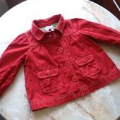 Пальто-пиджачок на девочку фирмы Gap на возраст 18-24 мес (реально до 3 лет)
