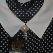 Модная блузочка в горох