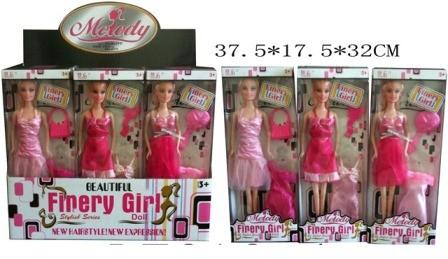 Кукла melody 31см lt013-4 с аксес.3в.12шт.в кор.32*17,5*37,5 фото №1