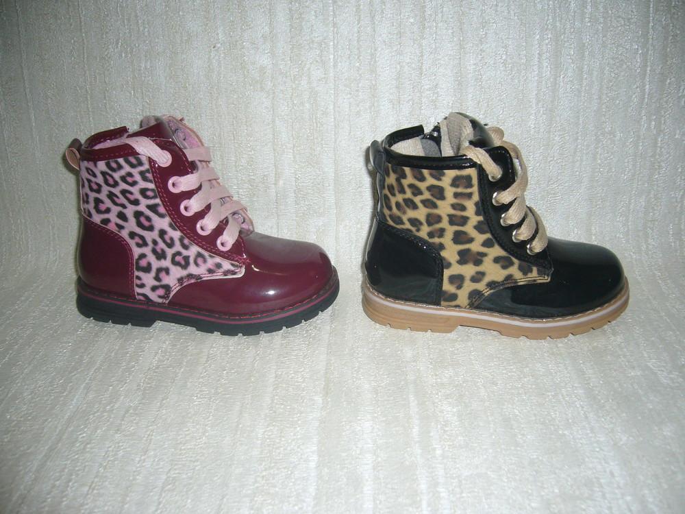 Демисезонные ботинки для девочек clibee размер 23 фото №1
