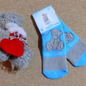 Шикарные махровые носочки-слиперы от Carte Blanche  из Англии