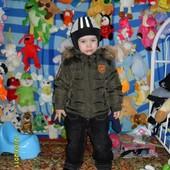 шапка-шлем осень-зима на ог 48-52 см