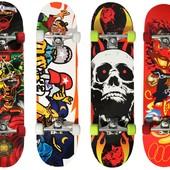 Скейтборд Shark из Китайского клёна Скейт 4 вида графики