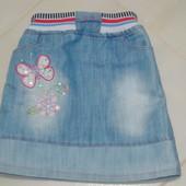 Джинсовая юбочка для девочки Sanco, Турция