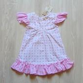 Новое платье для маленькой модницы. Lola Myer. Размер 0-6 месяцев