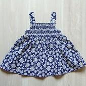 Яркий стильный сарафан для маленькой принцессы. Debenhams. Размер 0-3 месяца. Состояние: новой вещи
