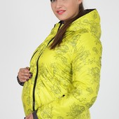Деми куртка для беременных, двухсторонняя, салатовая. Одежда для беременных
