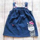 Сарафан платье на девочку Bluezoo 9-12мес.