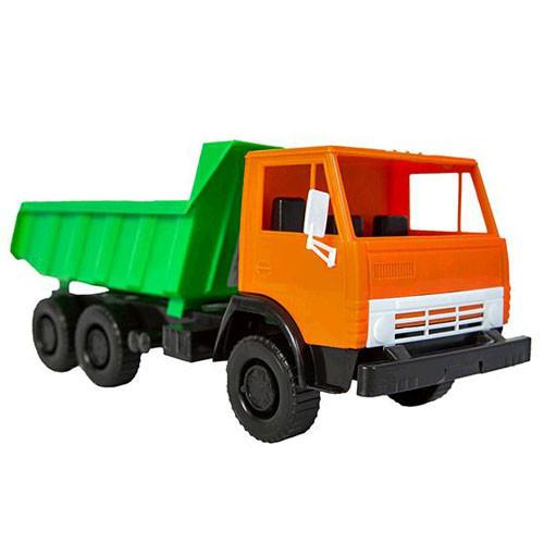 Машина-вантажівка супер камаз x4 з лопатою 559 оріон фото №1