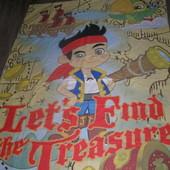 Disney детская новая постелька с пиратом Джейком)
