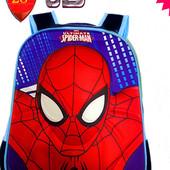 Рюкзак 3D спайдермен для начальной школы