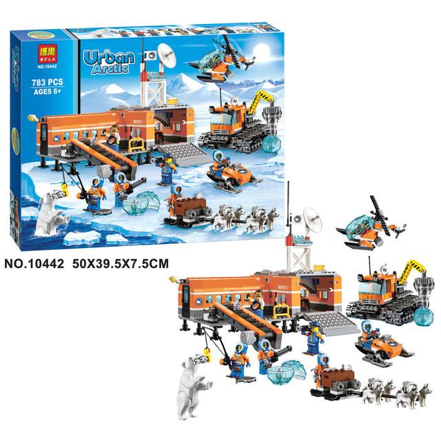 Конструктор bela 10442 арктика, станция urban арктический лагерь фото №1