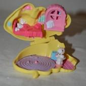 Домик дом Polly Pocket Bluebird для малюсеньких маленьких куколок кукол и животных карманный