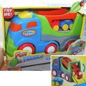 Машинка Keenway - Трейлер 29-15-12см