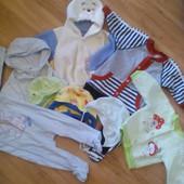 Набор вещей для малыша, ближе к осени, после одного ребёночка