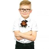 Крос-краватка  дитяча з вишивкою Зорегляд