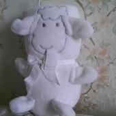 Детский плед с барашком 80х100, Primark Англия