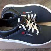 Новые кожаные слипоны туфли Columbia
