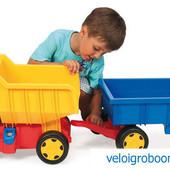 Машина 65100 большой грузовик с прицепом Гигант Wader Тигрес самосвал для детей