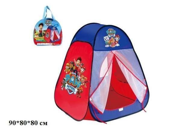Палатка детская игровая щенячий патруль 817 s фото №1