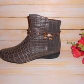 Деми ботинки для девочки, р37 - 23 см стелька, распродажа