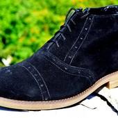 Зимние кожаные ботинки Brogg  размеры 40-45 #359