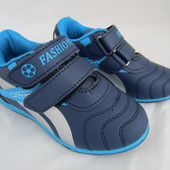 Синие кроссовки 26 р на 15,5 см