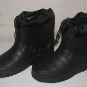 Ботинки Эва на непогоду 40 р.- 46 р. со съемным носком