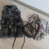 Жилетка меховая Zara 98