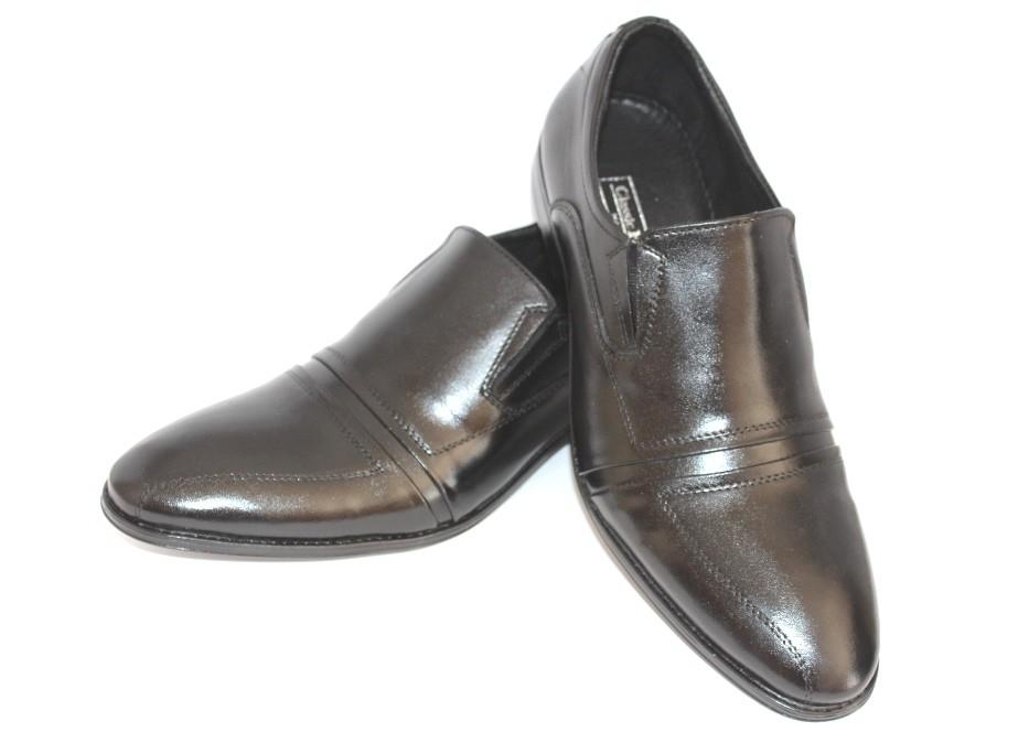 Туфли мужские классические, натуральная кожа фото №1