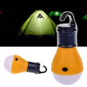 Кемпинговая лампа в палатку (фонарик туристический)