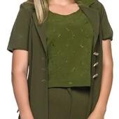 Распродажа -  Костюм женский тройка  размер 46 летний: жакет, брюки, майка от Кариант
