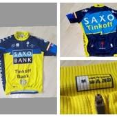 Велофутболка Saxobank Mр.