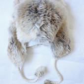 Зимняя шапка Ушки 8-12 лет (обхват 58)