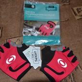 новые перчатки для велосипеда, размер S