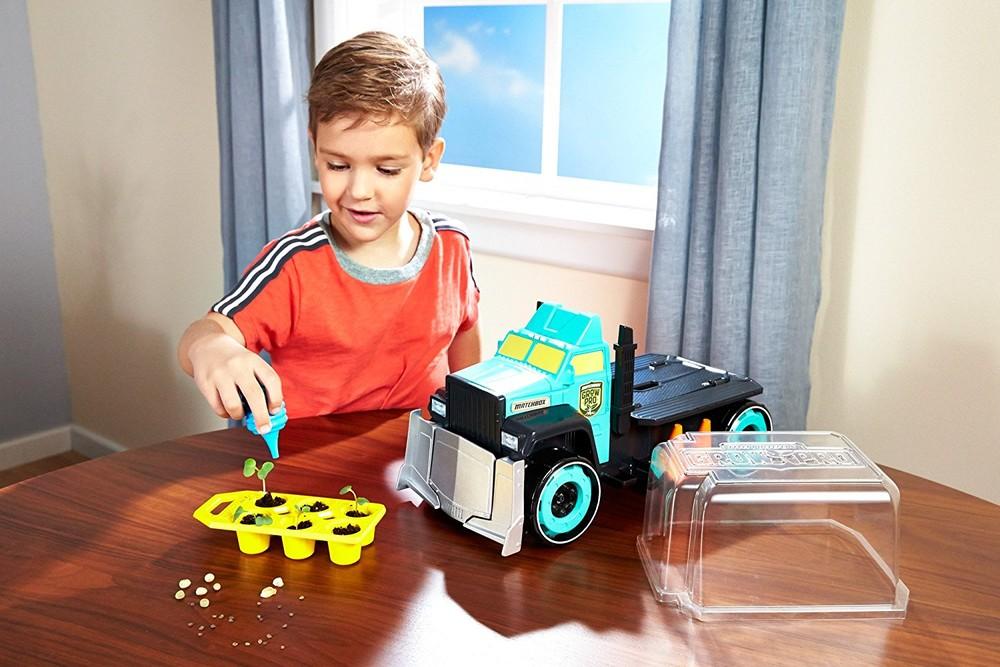 Машина садовода matchbox grow pro фото №1