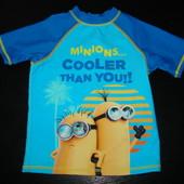 футболка для моря 3-4 года (можно до 3 лет) состояние новой